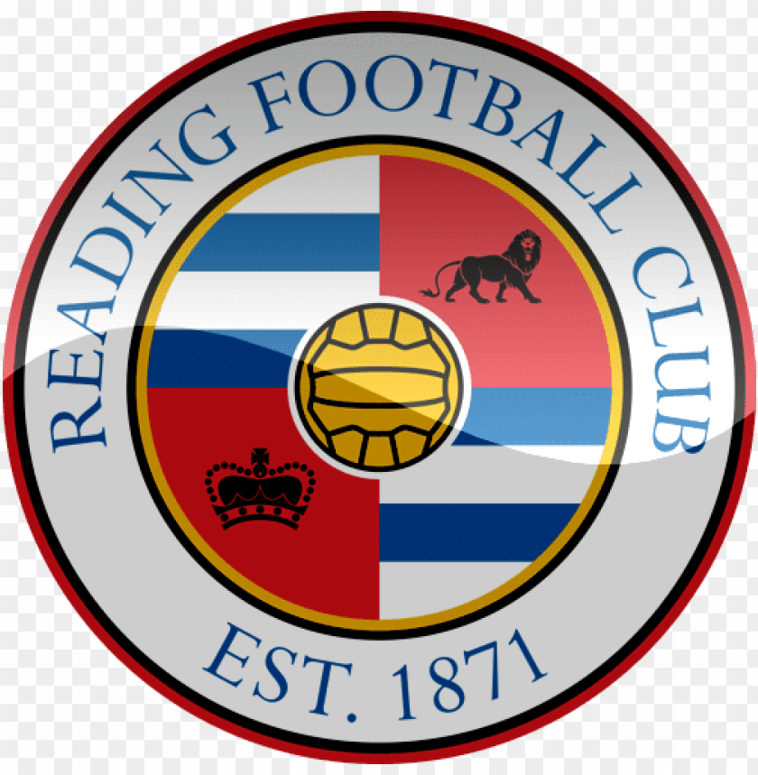 free PNG reading fc football logo png png - Free PNG Images PNG images transparent