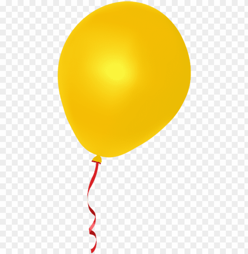 free PNG real balloons png - yellow balloon png clip art PNG image with transparent background PNG images transparent