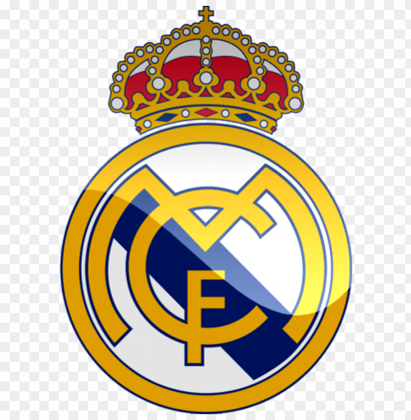 Real Madrid logo png images background@toppng.com