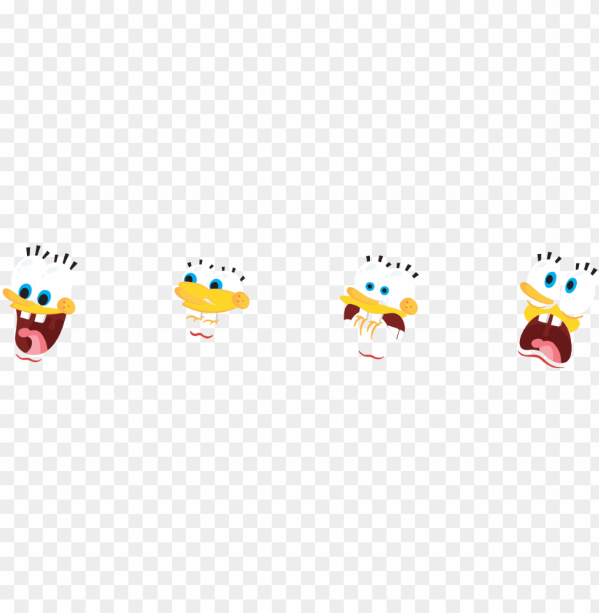 free PNG recreating such a well-known animated character meant - spongebob characters flat desi PNG image with transparent background PNG images transparent