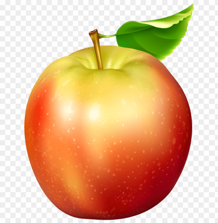 free PNG red and yellow apple transparent png - Free PNG Images PNG images transparent