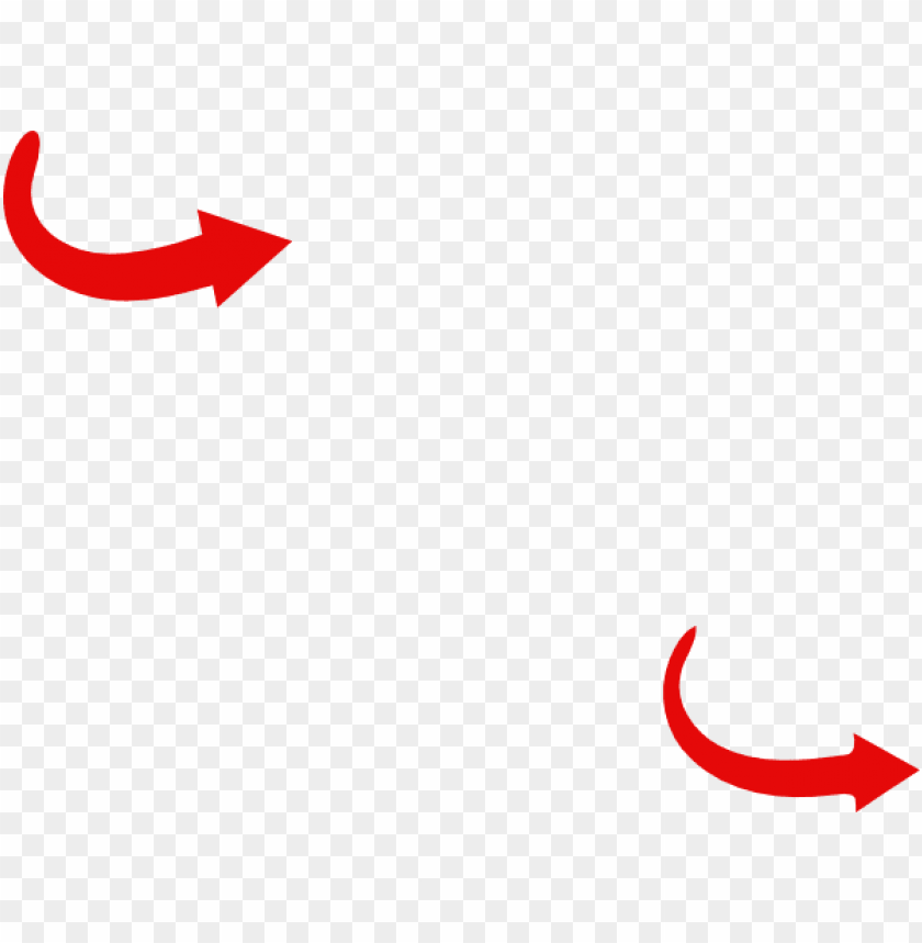 free PNG red arrow curve clip art - curved red arrow powerpoint PNG image with transparent background PNG images transparent