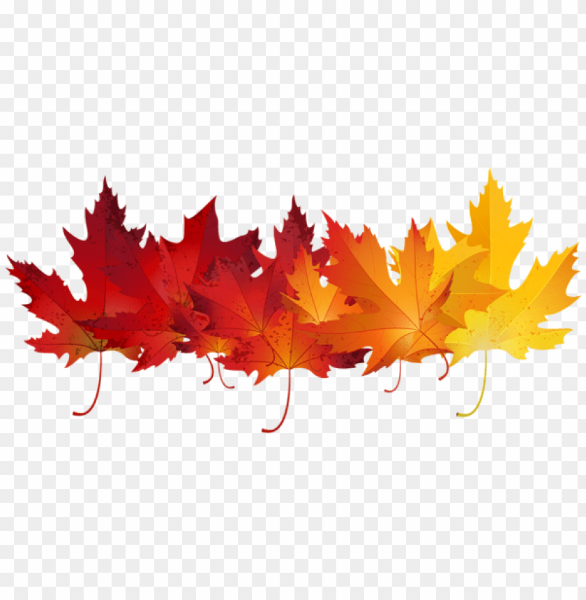 free PNG Download red autumn leaves transparent clipart png photo   PNG images transparent