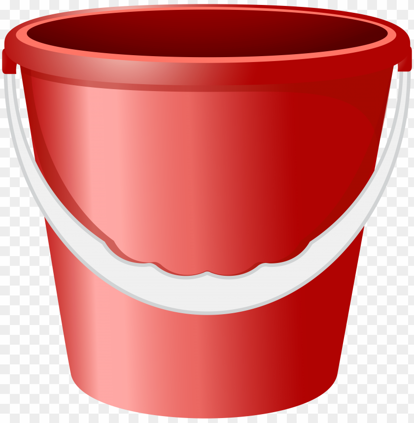 free PNG Download red bucket  image clipart png photo   PNG images transparent