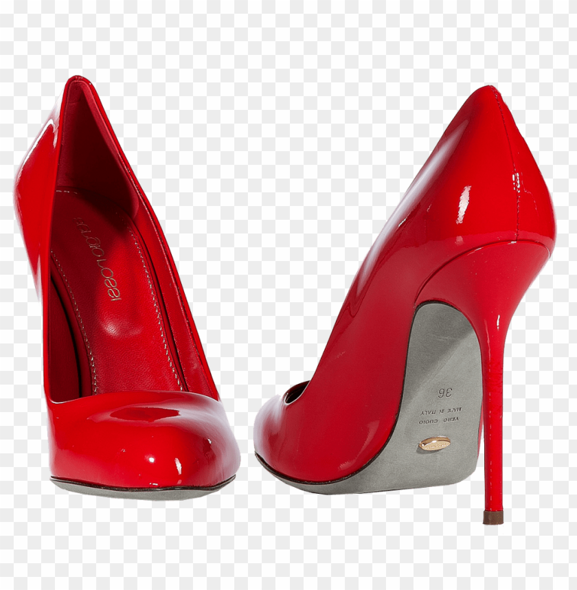 free PNG red casual women shoe png - Free PNG Images PNG images transparent