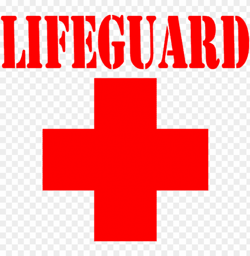 free PNG red cross clipart lifeguard - lifeguard cross vector PNG image with transparent background PNG images transparent