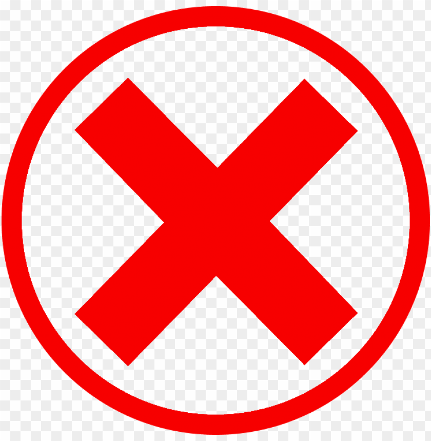 free PNG red cross mark download png - red cross check mark PNG image with transparent background PNG images transparent