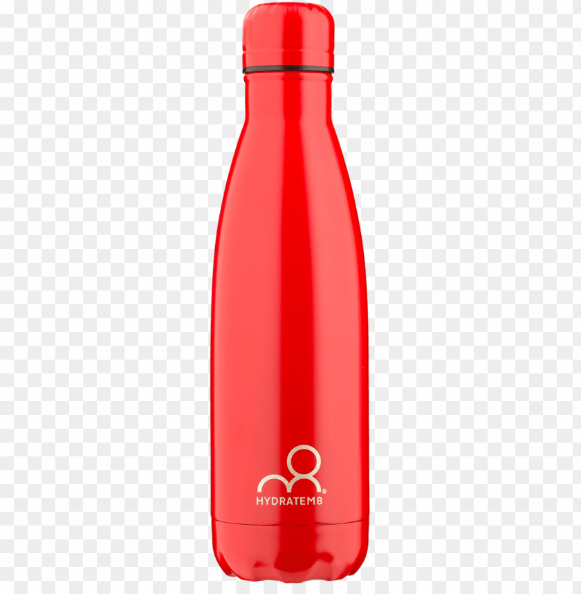 free PNG red insulated water bottle 500ml - water bottle PNG image with transparent background PNG images transparent