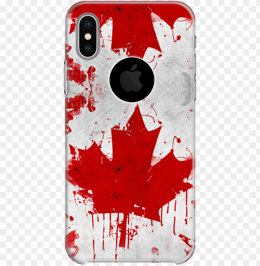 free PNG red maple leaf back case - clipart canadian maple leaf PNG image with transparent background PNG images transparent