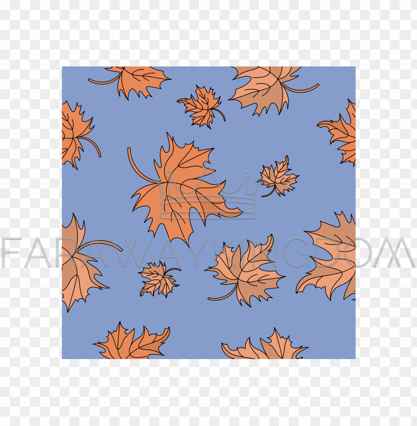 free PNG red maple leaves autumn seamless pattern vector illustration - maple leaf PNG image with transparent background PNG images transparent