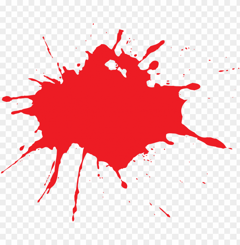 free PNG red paint splash png PNG image with transparent background PNG images transparent