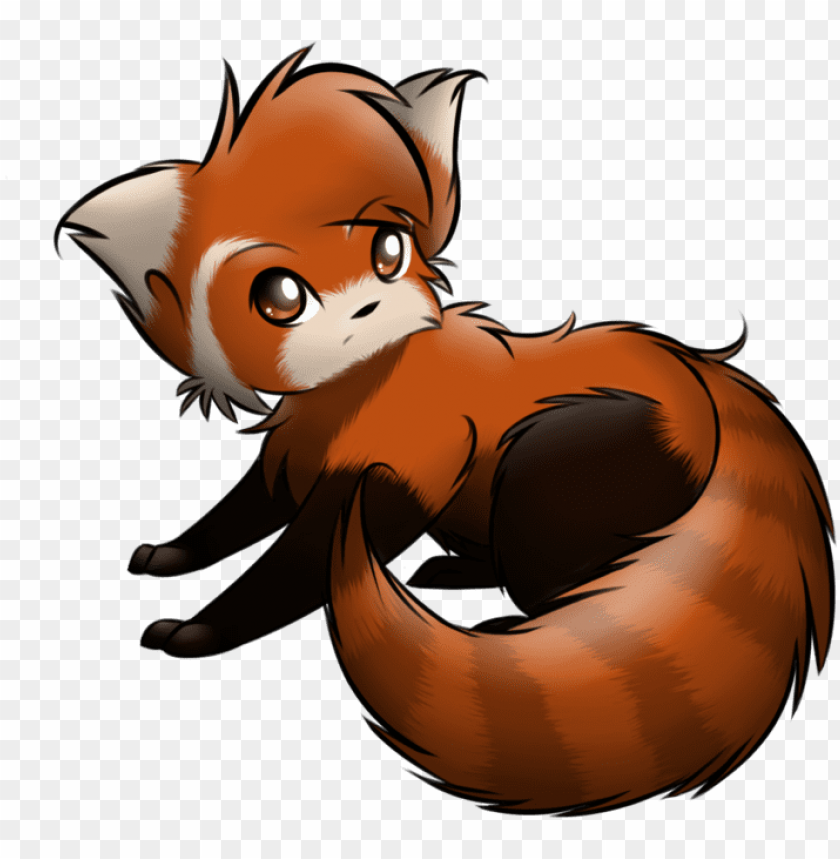 free PNG red panda' by toru sanogawa cute idea for a tattoo - kawaii anime red panda PNG image with transparent background PNG images transparent