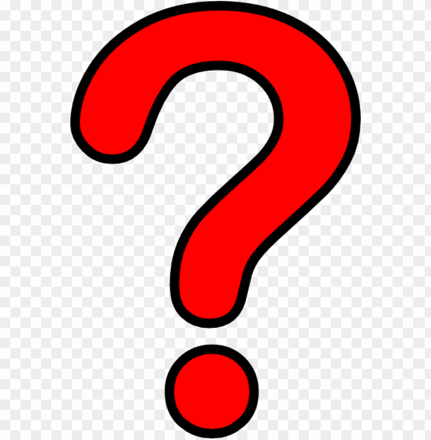 Red Question Mark Png Png Image With Transparent Background Toppng