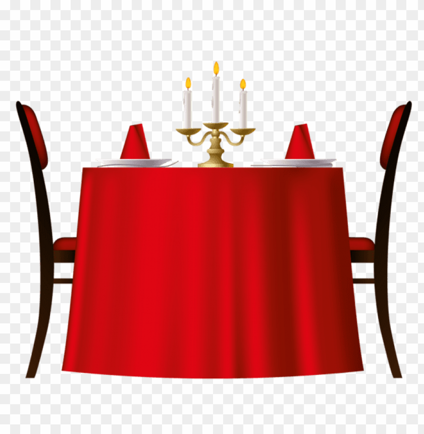 free PNG Download red romantic table clipart png photo   PNG images transparent