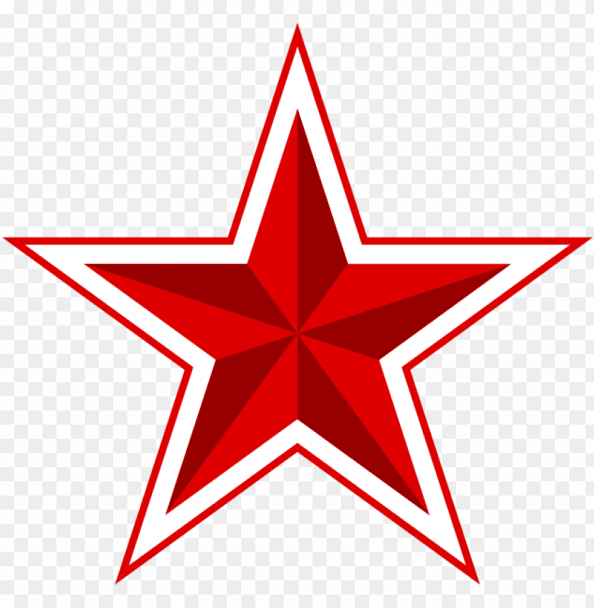 Red Star Transparent Background Png Image With Transparent Background Toppng