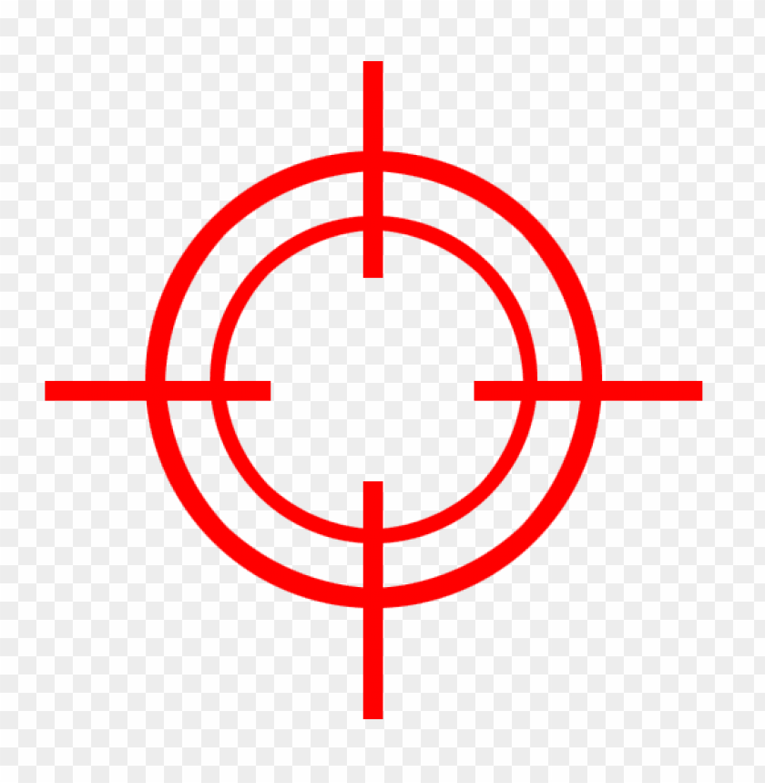 Red Target Png Image With Transparent Background Toppng