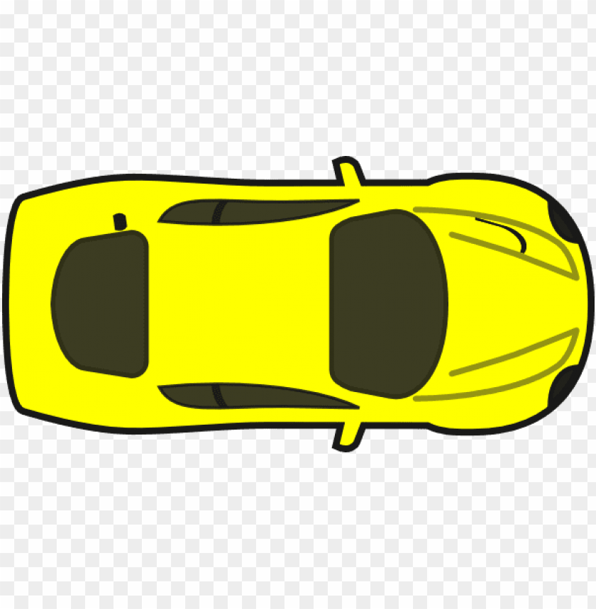 free PNG red top view clip art at clker - cartoon car birds eye view PNG image with transparent background PNG images transparent