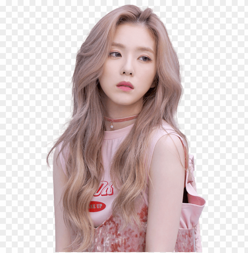 free PNG #red velvet #red velvet russian roulette #red velvet - red velvet irene hair color PNG image with transparent background PNG images transparent