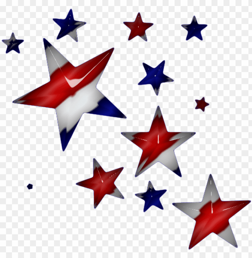 free PNG red white and blue star png transparent red white and - red white and blue stars transparent background PNG image with transparent background PNG images transparent