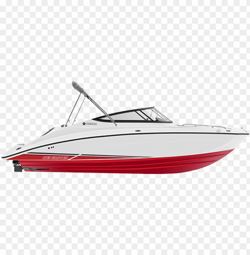 free PNG red yamaha boat sx210 2018 red side profile - 2018 yamaha sx210 PNG image with transparent background PNG images transparent