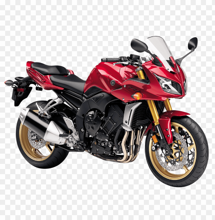 free PNG Download Red Yamaha FZ1 Motorcycle Bike png images background PNG images transparent