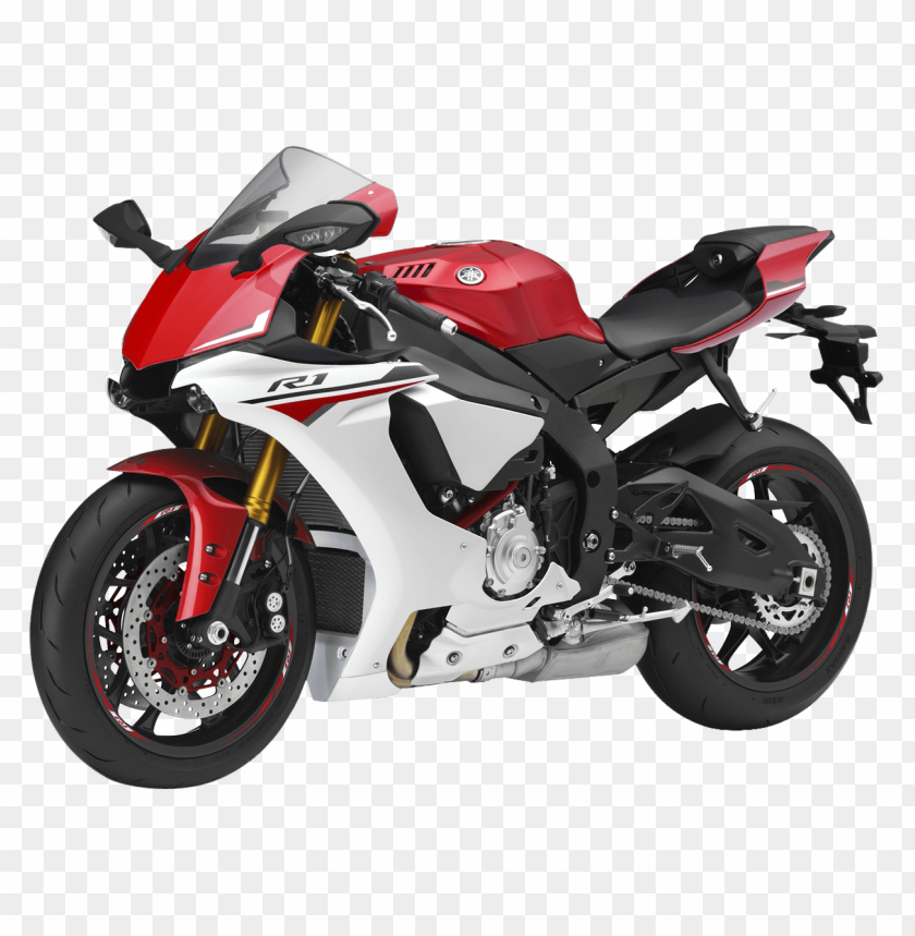 free PNG Download Red Yamaha YZF R1 Sport Motorcycle Bike png images background PNG images transparent