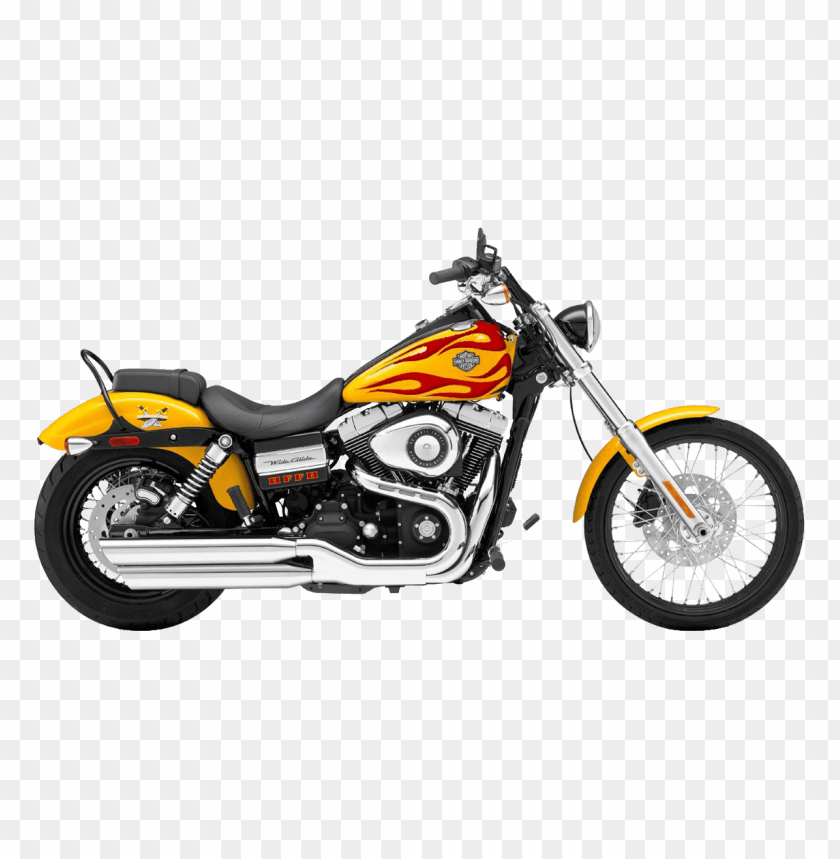 free PNG Download red yellow harley davidson motorcycle png images background PNG images transparent