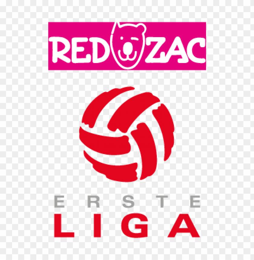 free PNG red zac erste liga vector logo PNG images transparent