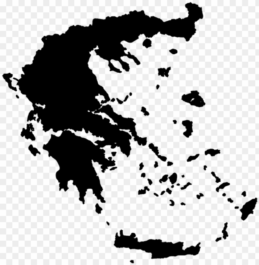 free PNG reece offers the ideal conditions for golf holidays, - greece map vector PNG image with transparent background PNG images transparent