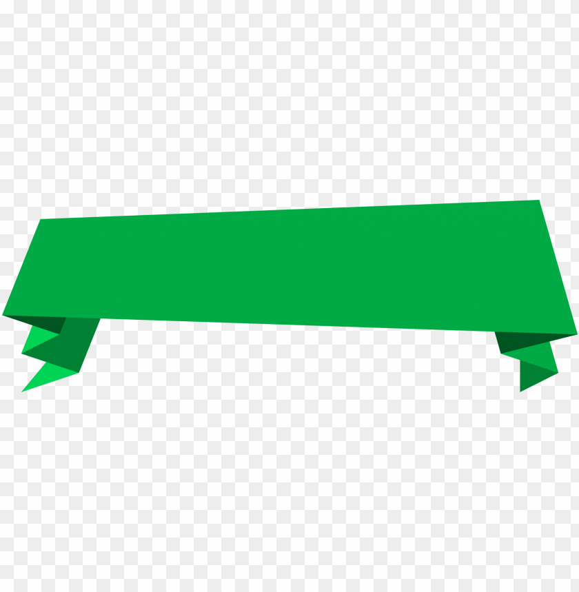 free PNG reen banner - vector png origami banner PNG image with transparent background PNG images transparent