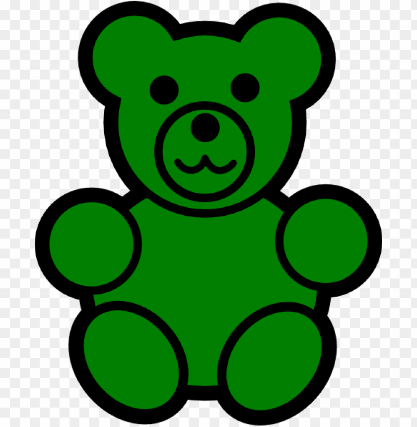Reen Bear Png Vector Free Library Gummy Bear Clipart Png Image With Transparent Background Toppng