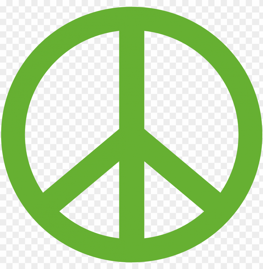 free PNG reen peace logo, best - peace logo gree PNG image with transparent background PNG images transparent