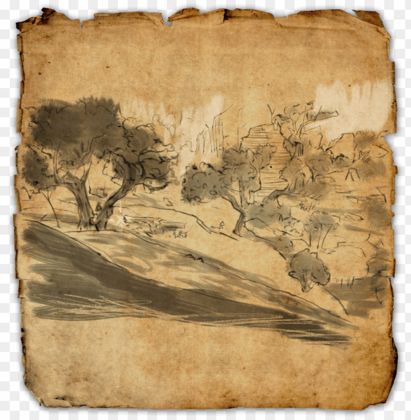 free PNG reen shade online elder scrolls treasure map - hew's bane treasure map eso PNG image with transparent background PNG images transparent