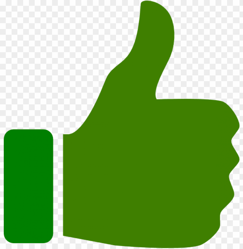 free PNG reen thumbs up clip art at clker - green thumbs up PNG image with transparent background PNG images transparent