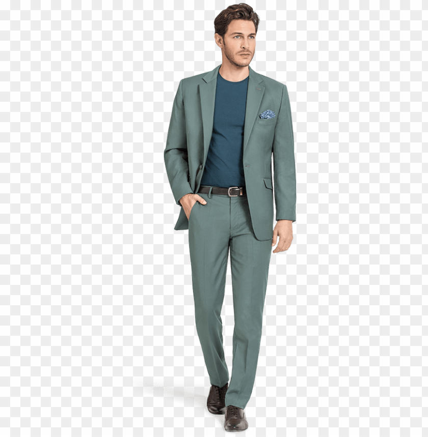 free PNG reen wool suit - formal wear PNG image with transparent background PNG images transparent