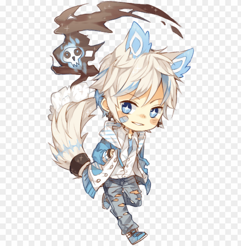 Rehmiel By Ruuto Kun Chibi Cute Anime Boy Png Image With Transparent Background Toppng