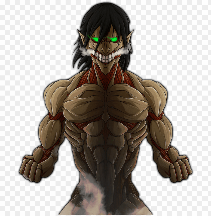 Related Wallpapers Attack On Titan Eren Armored Tita Png Image With Transparent Background Toppng