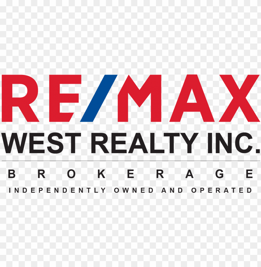 Re Max West Realty Inc Re Max West Realty Inc Logo Png Image With Transparent Background Toppng