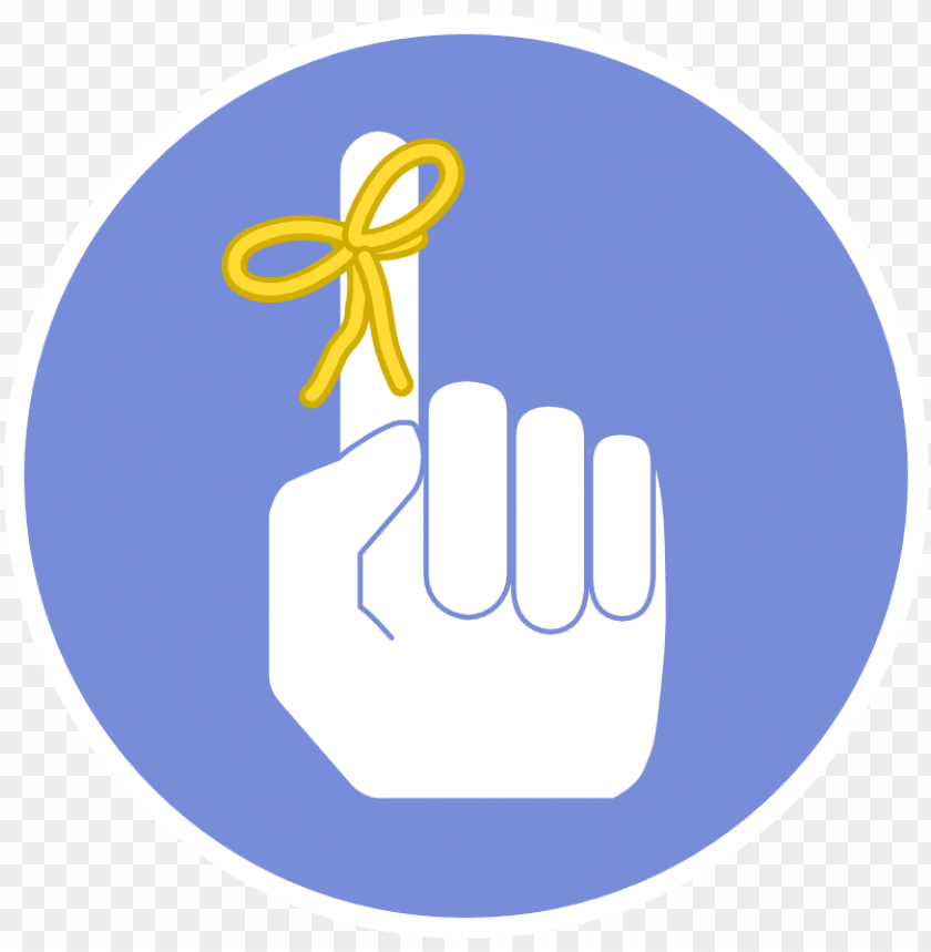 free PNG remember finger png - finger remember ico PNG image with transparent background PNG images transparent