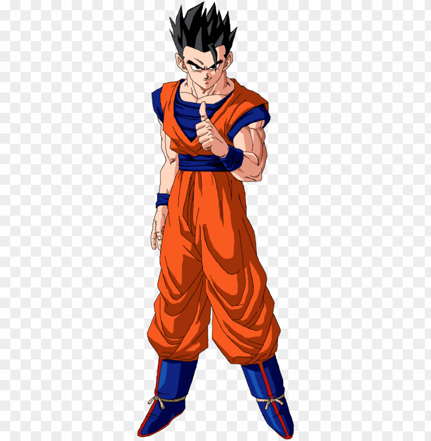 free PNG remember the gohan who styled on majin buu - dragon ball z gohan PNG image with transparent background PNG images transparent