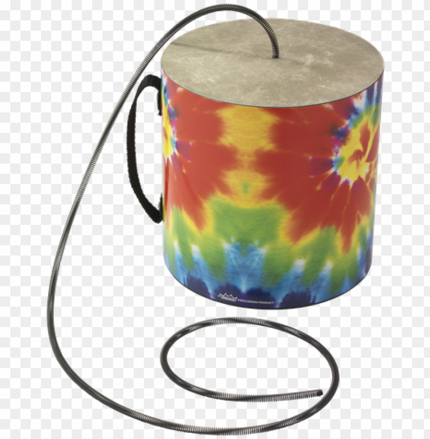 free PNG remo thunder tube 6 inch diamter 6 inch depth tie dye - lampshade PNG image with transparent background PNG images transparent