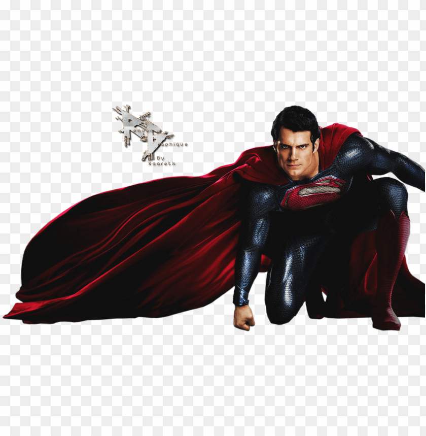 free PNG render superman man of steel cape rouge bleu - superman png transparent PNG image with transparent background PNG images transparent