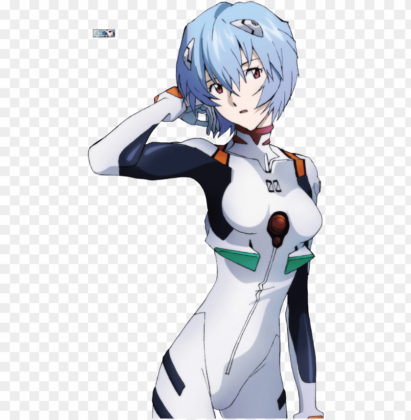 Renders Rei Ayanami Pilot White Combination Neon Genesis