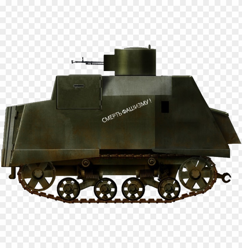 free PNG rendition of a ni improvised tank with a dshk, only - tank PNG image with transparent background PNG images transparent