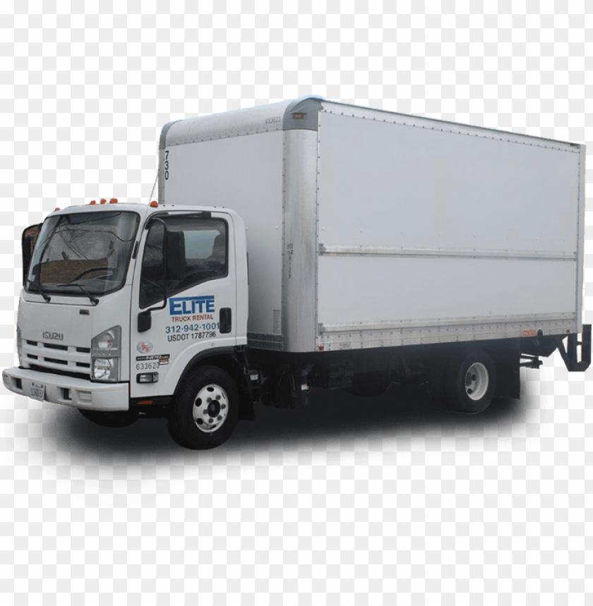 free PNG rental moving truck humboldt park - isuzu npr 2018 model PNG image with transparent background PNG images transparent