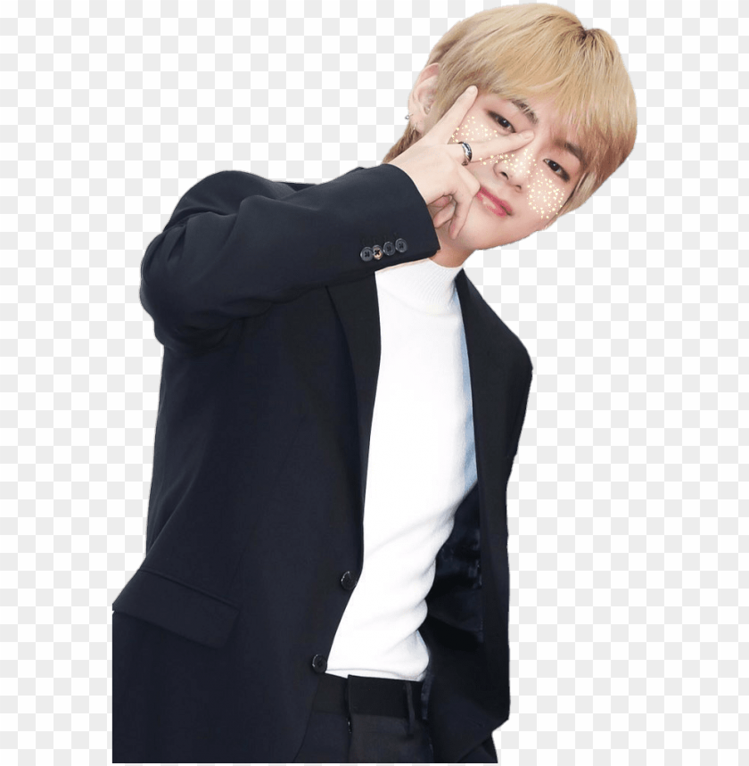 report abuse , bts taehyung in suit transparent PNG image
