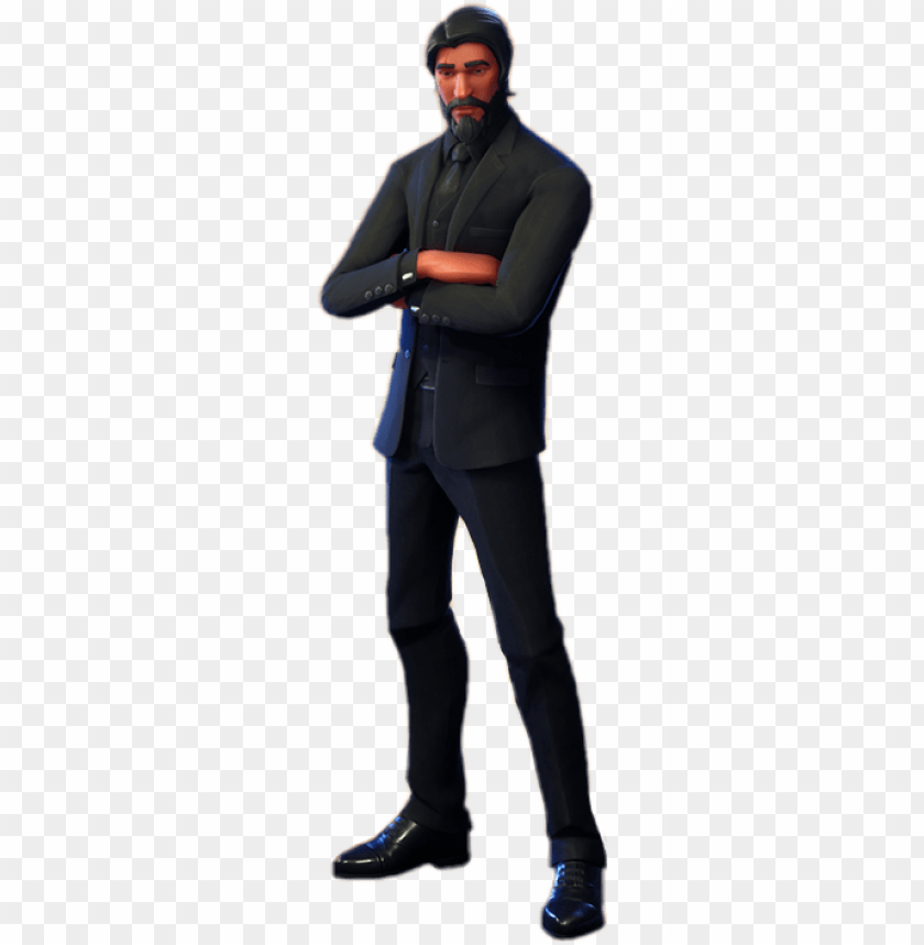 free PNG report abuse - john wick skin fortnite PNG image with transparent background PNG images transparent