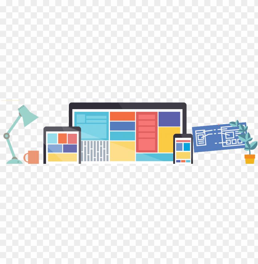 free PNG responsive web design banner PNG image with transparent background PNG images transparent