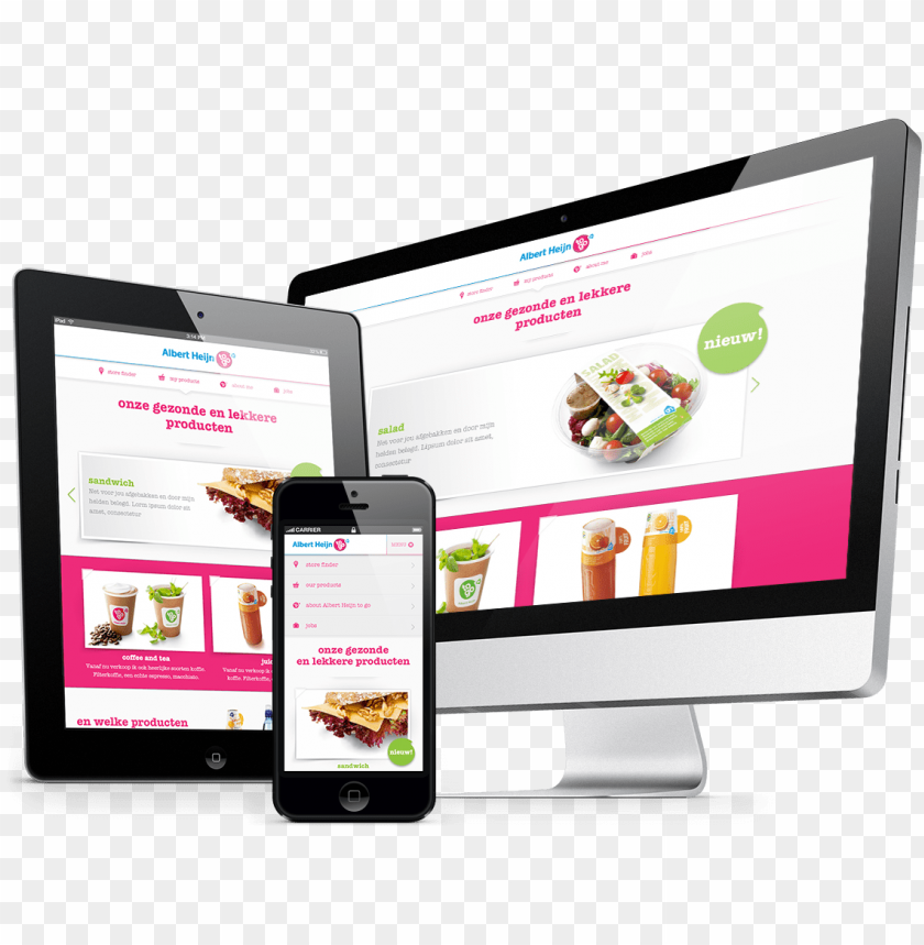 free PNG responsive web design transparent - web design responsive PNG image with transparent background PNG images transparent