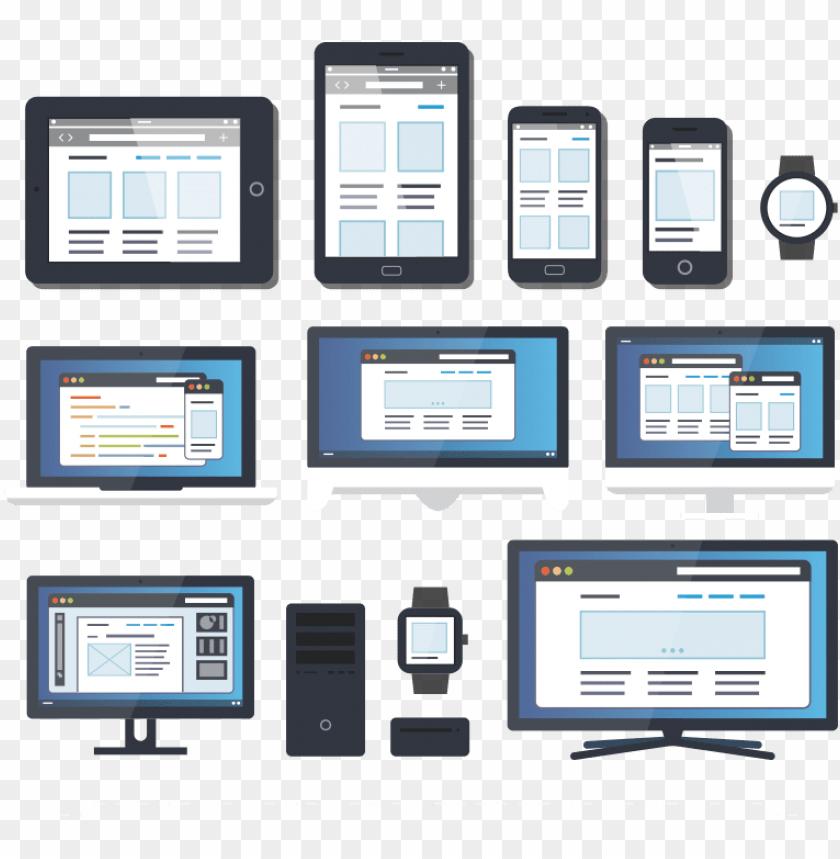 free PNG responsive website design - responsive web desi PNG image with transparent background PNG images transparent